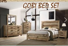 United Furniture -Full Size Gobi Bed Set complete with (Basic) Mattress + Box Frame and deliver. in Ansbach, Germany