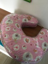Pink Bright Stars Breast Feeding Cuddle Baby Pillow Cushion in Lakenheath, UK