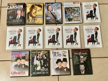 Classic Comedy DVD Lot Carson Benny Borge Abbott Costello Laurel Hardy EUC in Fairfield, California