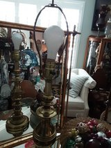 Brass Table Lamp in Travis AFB, California