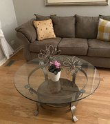 coffee table and matching side table set in Chicago, Illinois
