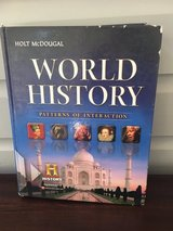 High School World History Textbook - Holt McDougal in Westmont, Illinois