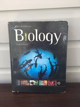 High School Biology Textbook - Holt McDougal in St. Charles, Illinois