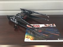 Star Wars LEGO LEGO 75179 Kylo Ren's Tie Fighter Ages 8-14 (630 Pieces) in St. Charles, Illinois