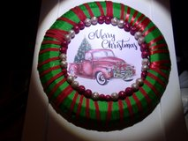 Wreaths for Christmas Vintage Truck Motif  14 inches in Fort Hood, Texas