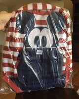 Striped Mickey Mouse Backpack in Naperville, Illinois