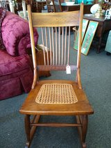Vintage Small Wood Rocking Chair in St. Charles, Illinois