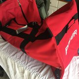 Bauer Large Red & Black Hockey bag, New. in Naperville, Illinois