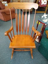 Larger Wooden Rocker in St. Charles, Illinois