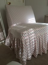 Armless Chair with a Slipcover in Plainfield, Illinois