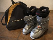 LANGE Double 55 Ski Boots Sz 26.5 with Bag in Ramstein, Germany