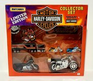 NEW Vintage Matchbox Harley Davidson Gift Set Limited Edition in Morris, Illinois
