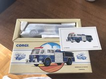 NEW Corgi Die Cast Fire Truck American LaFrance Carnegie Pa 1 Of 10,000 1993 in Chicago, Illinois