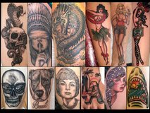 $400 Tattoo Special in Camp Pendleton, California