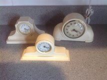 Vintage Celluloid clocks in Bartlett, Illinois