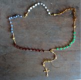 A unique Birthday or Christ gift - Custom made rosaries - your choice of beads and color in Conroe, Texas