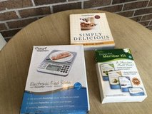 Weight Watchers kit, scale, cookbook in St. Charles, Illinois