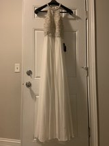 Wedding special occasion dress new with tags size 4 in Bolingbrook, Illinois