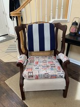 Wing back chair in Travis AFB, California