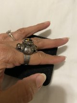 Vintage Cat Eye Sterling Ring in Stuttgart, GE