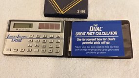 Pocket Solar Cell Electronic Calculator in Naperville, Illinois