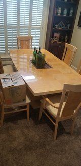 Dining Room Table & Cabinet in Hinesville, Georgia