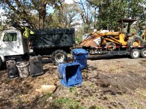 Debris clean up in Fort Polk, Louisiana