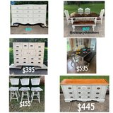 dresser table barstools in Clarksville, Tennessee