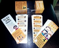 Brain Quest 4th grade (9-10 yr olds) 2 decks with 1500 questions and answers plus carrying case in Joliet, Illinois