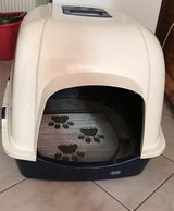 Cat's litter box in Spangdahlem, Germany
