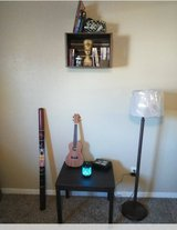 Crate/Shelf with matching table and lamp in Sugar Land, Texas