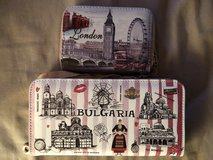 2 Women's Hand Wallet From Bulgaria and London in Ramstein, Germany