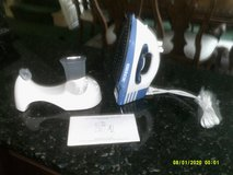 ORECK SPEED IRON ( NEW )  1300-WATTS CORD OR CORDLESS STEAM IRON WITH HOLDING TRAY NEW STICK SOL... in Batavia, Illinois