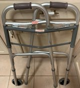 """Guardian Easy Care Two Button Folding Walker with 5"""" Wheels in Alamogordo, New Mexico"""