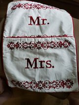 NEW Mr. & Mrs. zippered pillow  cases in Plainfield, Illinois