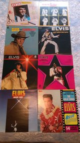 Elvis album collection (8) in Warner Robins, Georgia