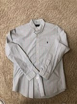 Men's Small Check Shirt by Ralph Lauren Size Medium in Chicago, Illinois