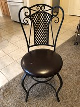Iron chair in Cleveland, Texas