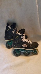 Mission Roller Hockey skates (used)(13Y) in Fort Campbell, Kentucky