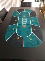 New Portable Poker Table Mat in Okinawa, Japan