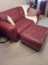 Leather Sofa, Loveseat,Chair and Ottoman in Hinesville, Georgia