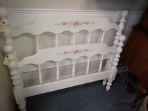 White Twin Headboard, Footboard and Rails in Chicago, Illinois