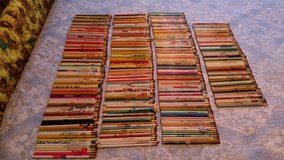 40 year advertising pencil collection in Warner Robins, Georgia