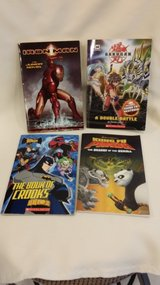 Kung Fu - Bakugan - Batman - Iron Man Books in Naperville, Illinois