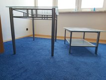 Glass top and metal frame tables. in Wiesbaden, GE