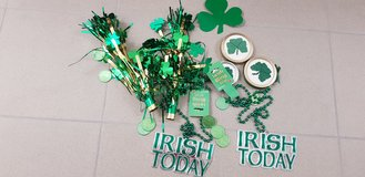 Decor for St Patricks Day in Stuttgart, GE