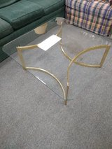 Square Glass Top Coffee Table in Bartlett, Illinois