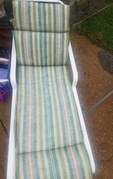 Lounge chair with cushion in Fort Campbell, Kentucky
