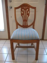 Wood Chair w/Upholstered Seat in Joliet, Illinois
