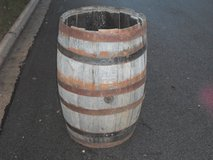 Large Wooden Barrel in Chicago, Illinois